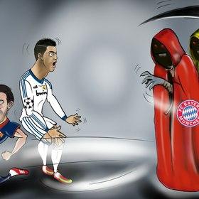 Football (Soccer) Caricature