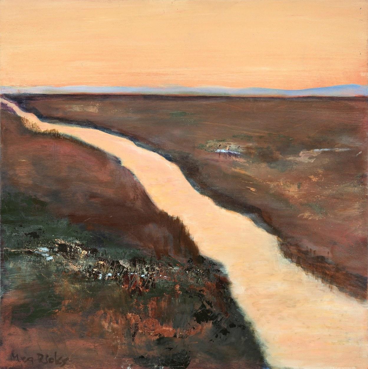 Salt Marsh Dawn Abstracted
