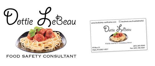 Logo Design - Dottie LeBeau Food Safety