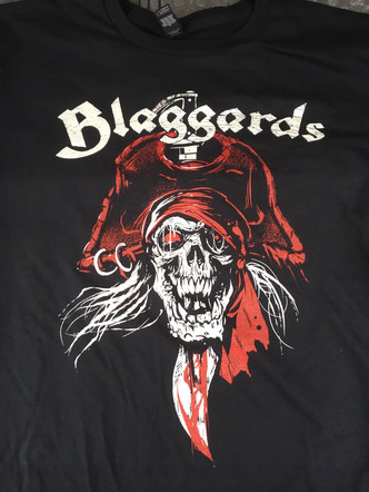 Blaggards Pirate T-shirt Design