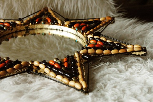 Beaded Mirror/Fragment