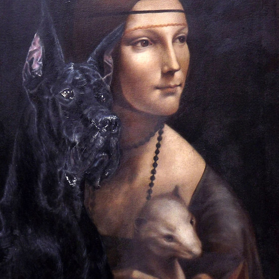 Classical Great Dane (after Leonardo Da Vinci)