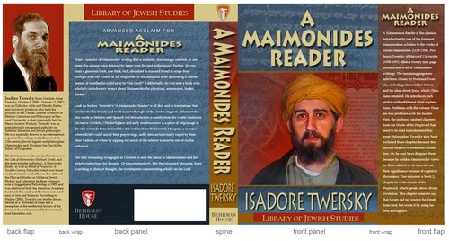 Book Cover-A Maimonides Reader