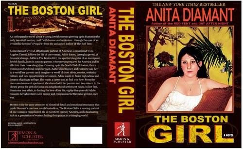 Book Cover Design-Boston Girl