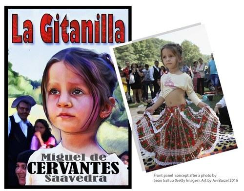 Book Cover-La Gitanilla