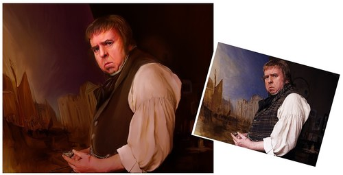Tim Spall as JMW Turner