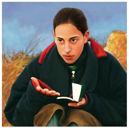 Young Woman of Amona, Israel
