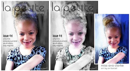 Miss Ava Clarke, Cover Girl
