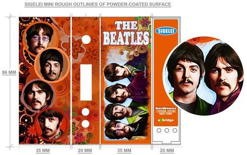 The Beatles AviVapes Box Mod Wrap