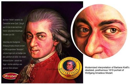 Mozart Taler (Mozart Dpllars) Ad/Poster