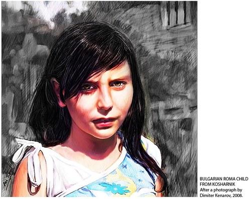 Bulgarian Roma Child