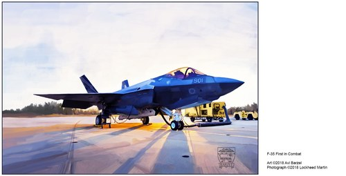 F-35 FIRST IN COMBAT, ISRAEL