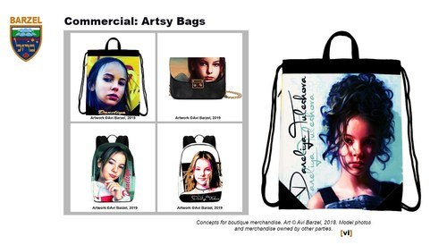 Commercial: Artsy Bags