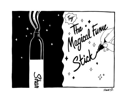 Try The Magical Fume Stick