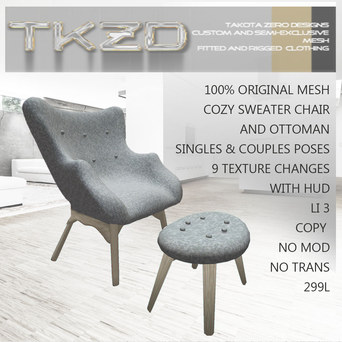 Textured Chair & Ad