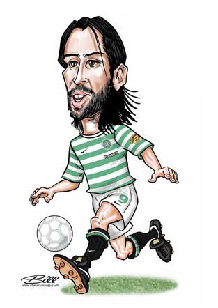 Georgio Samaras - Celtic FC