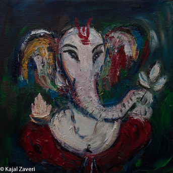 Om Ganesh (SOLD)
