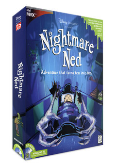 Nightmare Ned | Video Game Box Front