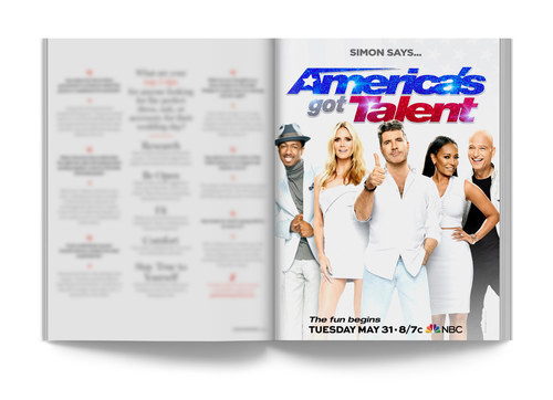 America's Got Talent | Full-Page Ad