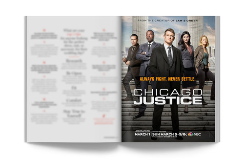 Chicago Justice | Full-Page Ad