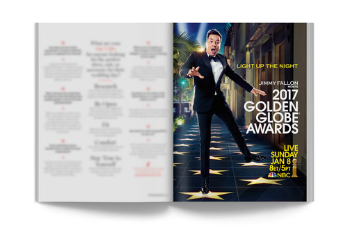 2017 Golden Globes | Full-Page Ad