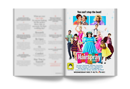 Hairspray Live! | Full-Page Ad
