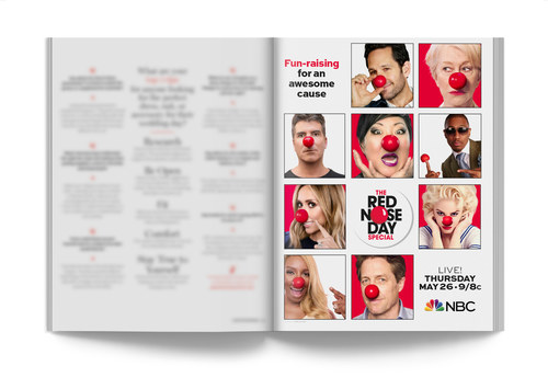 Red Nose Day | Full-Page Ad