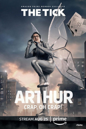 The Tick | Arthur Character Poster