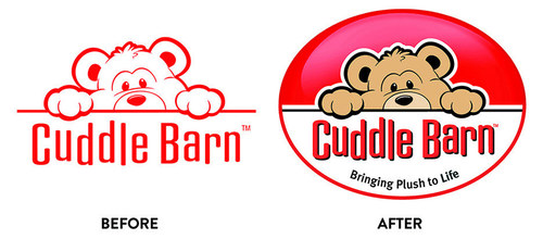CuddleBarn | Logo Redesign