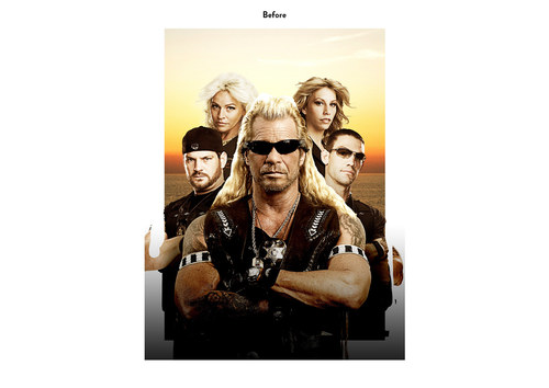 Dog the Bounty Hunter | A&E Show Key Art (Before)