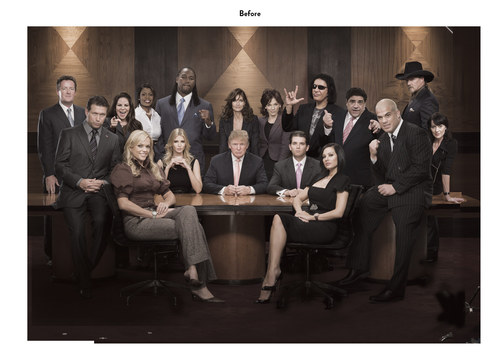 The Celebrity Apprentice, Season 1 | NBC Show Key Art (Before)