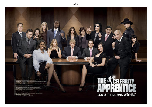 The Celebrity Apprentice, Season 1 | NBC Show Key Art (After)