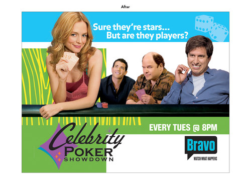Celebrity Poker Showdown, Season 5 | Bravo Show Key Art (After)