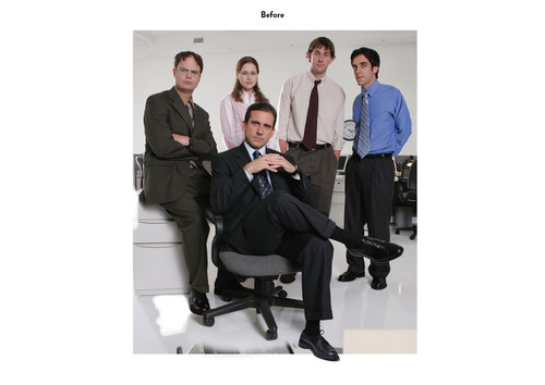 The Office, Season 2 | NBC Emmy Mailer Art (Before)