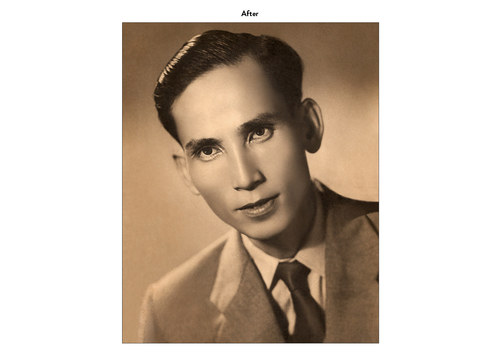 Asian Man | Photo Restoration (After)