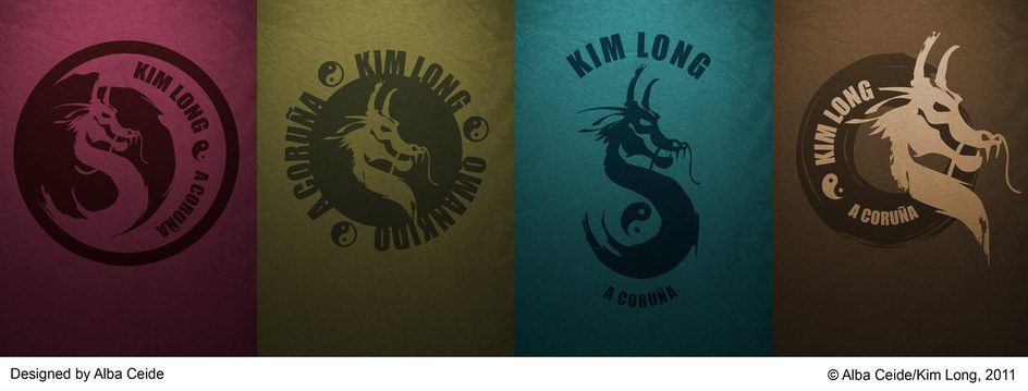 CORPORATE IDENTITY FOR KIM LONG CLUB