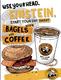 Einstein Bros print ad