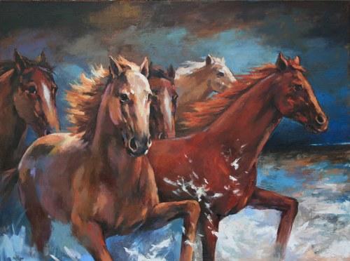 Joro Petkov, Oil on canvas, # 23