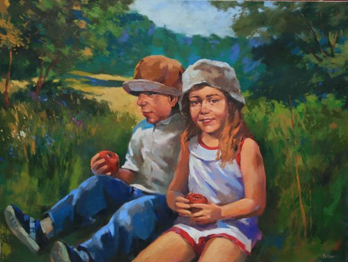 Joro Petkov, Oil on canvas, # 19