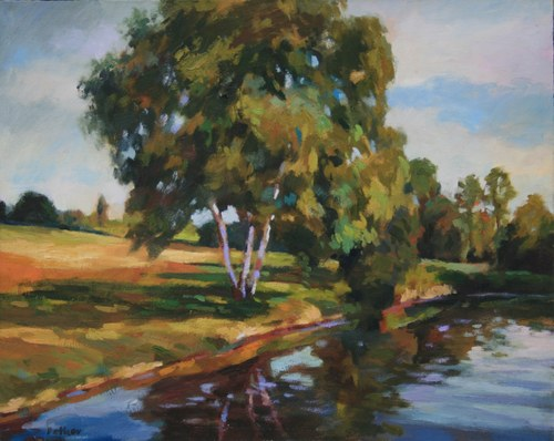 Joro Petkov, Oil on canvas, Landscape, # 20