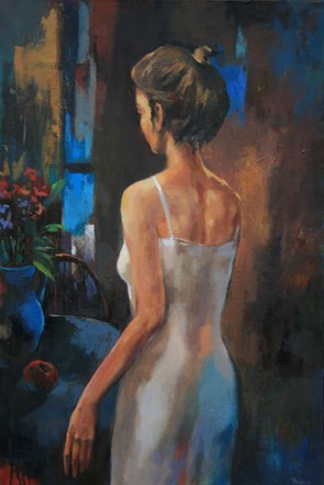 Joro Petkov, Oil on canvas, # 32