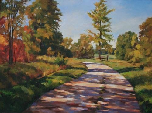 Joro Petkov, Oil on canvas, Landscape, # 9
