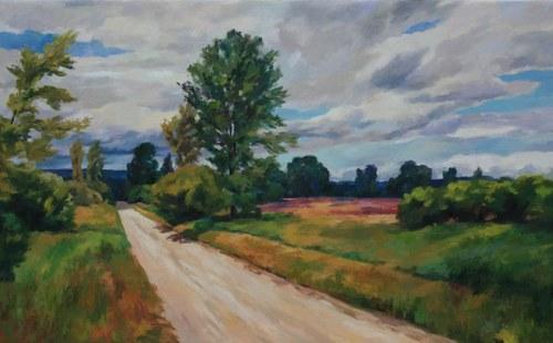 Joro Petkov, Oil on canvas, Landscape - # 3