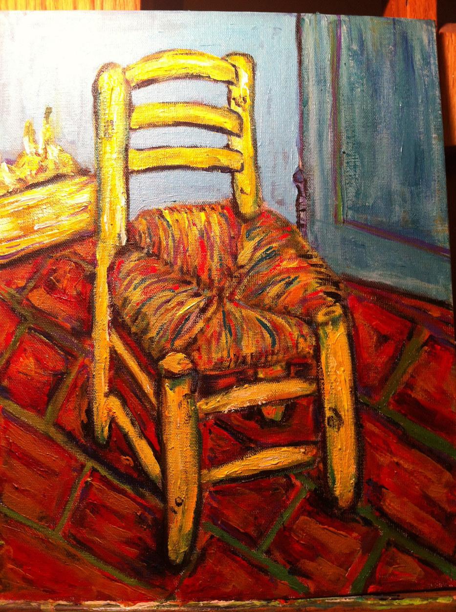 Vincent's Chair (after Van Gogh)