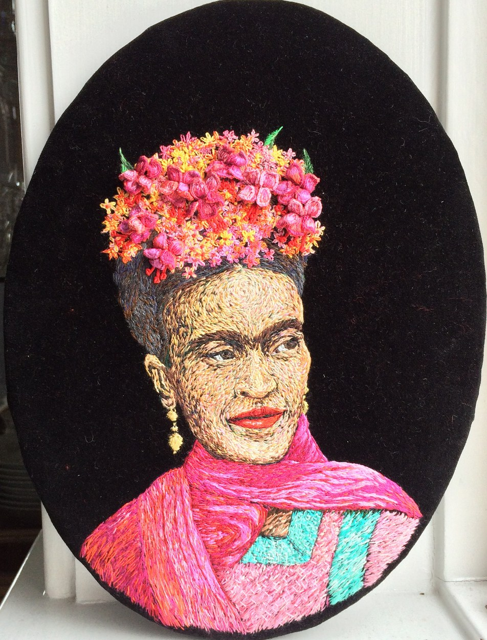 Diego's Chica (portrait of Frida)