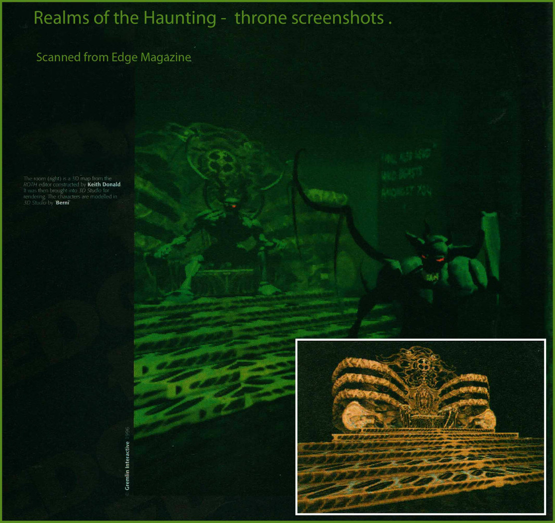 Realms of the Haunting.Scan from Edge Magazine.