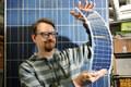 Janne Käpylehto and solar panels