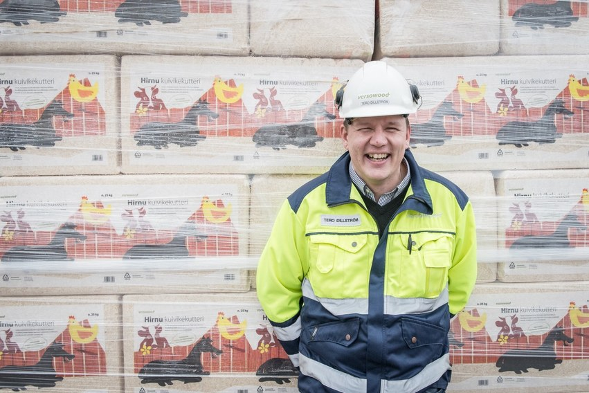 Tero Dillström, New uses for sawdust chips